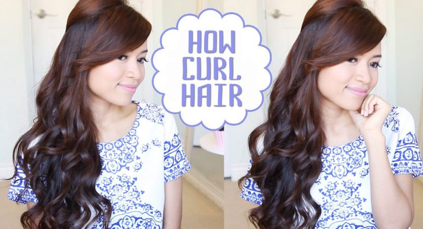 How to curl hair 2